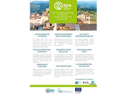 Conclusiones Evento REN - Experiencias de Inclusión Social en entornos Rurales